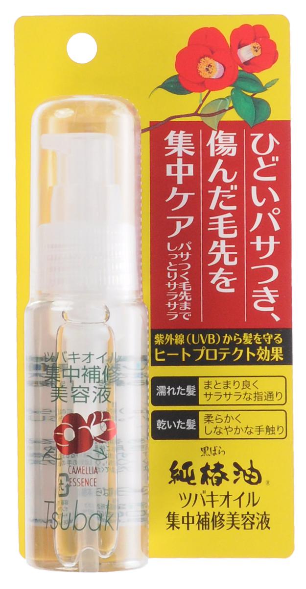 Kurobara Эссенция востанавливающая, c маслом камелии японской, для сухих волос, 50 мл