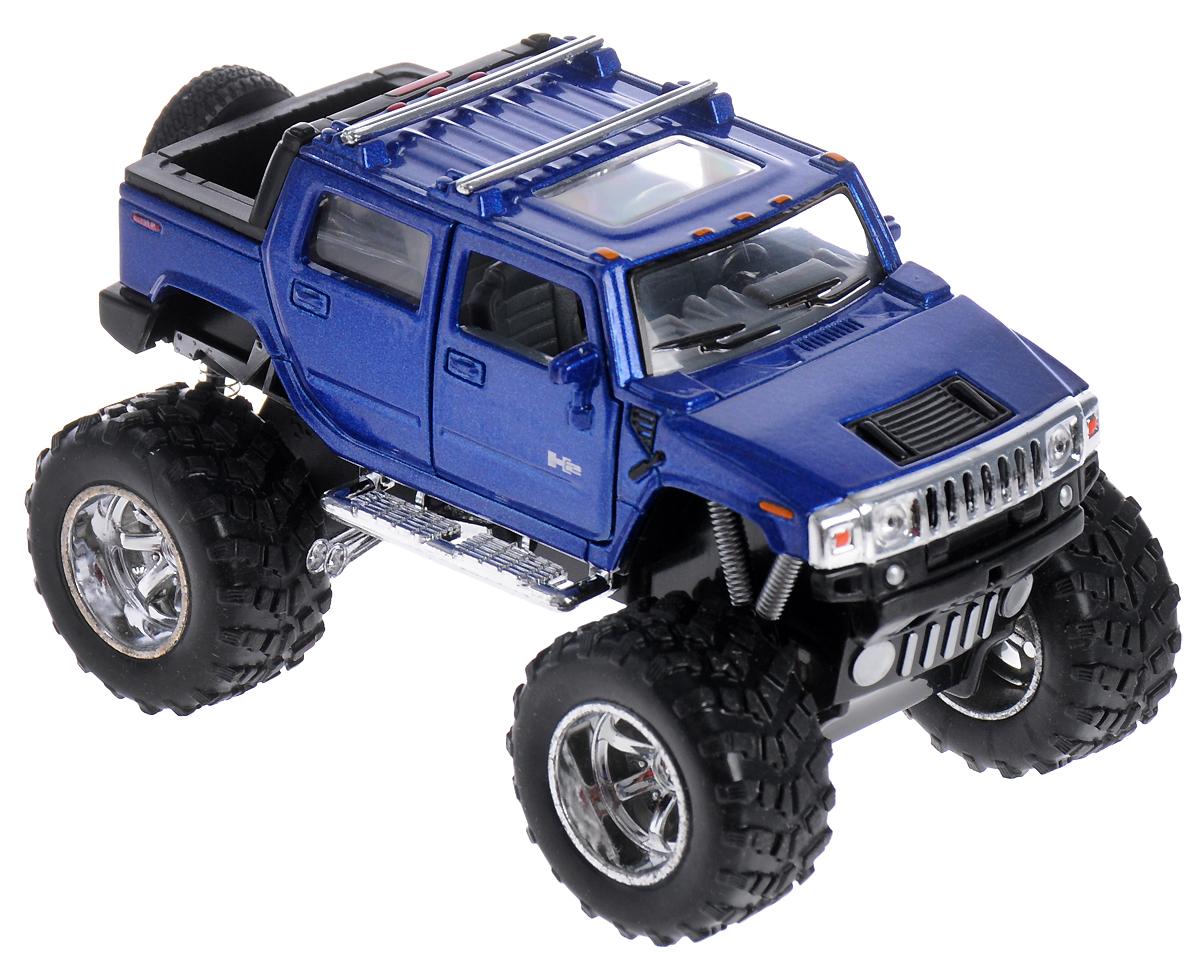 все цены на  Kinsmart Модель автомобиля Hummer H2 SUT Off Road цвет синий  онлайн