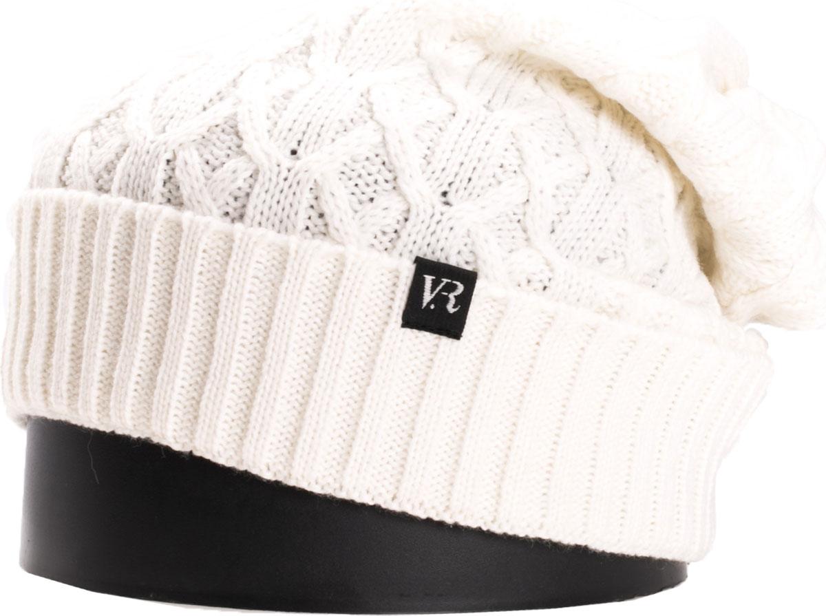 Шапка женская Vittorio Richi, цвет: белый. NSH150825. Размер 56/58NSH150825Стильная женская шапка Vittorio Richi отлично дополнит ваш образ в холодную погоду. Модель, изготовленная из шерсти с добавлением акрила, максимально сохраняет тепло и обеспечивает удобную посадку. Шапка дополнена ажурной вязкой и сбоку фирменной нашивкой. Привлекательная стильная шапка подчеркнет ваш неповторимый стиль и индивидуальность.