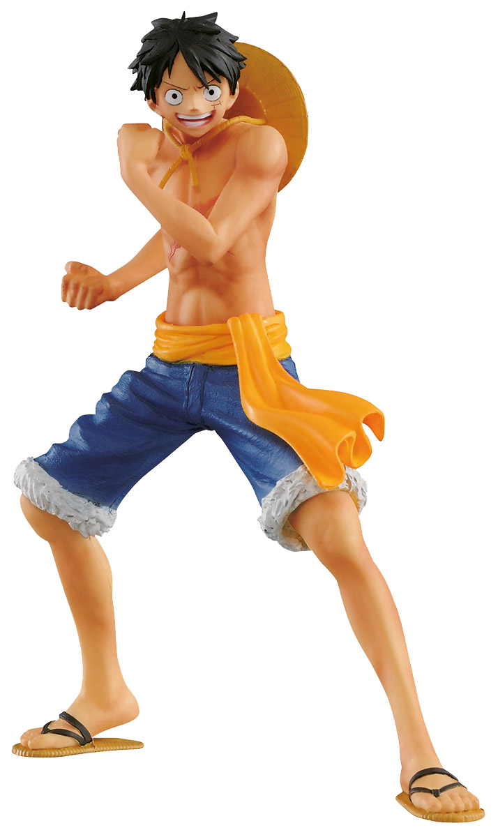Bandai Фигурка One Piece The Naked Body Calendar Monkey D Luffy A anime one piece action figure king of artist gear 4 fourth monkey d luffy ace hancock mihawk pvc collection model toy