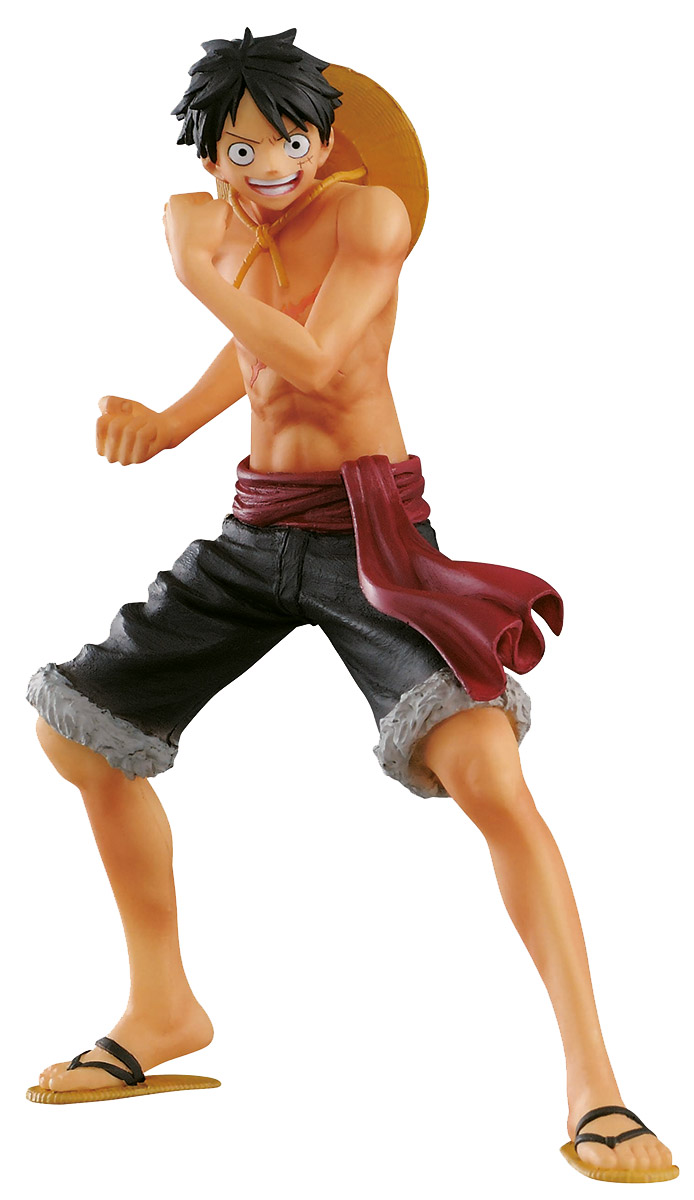 Bandai Фигурка One Piece The Naked Body Calendar Monkey D Luffy B