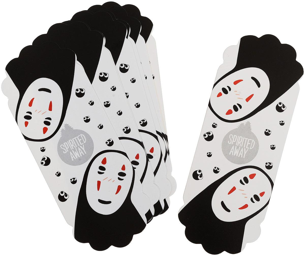 Карамба Закладка Призрак 8 шт004030Бумажные закладки вырезаны в форме контура человечка с изображением привидения. Уважаемые клиенты!Обращаем ваше внимание на цветовой ассортимент товара. Поставка осуществляется в зависимости от наличия на складе.