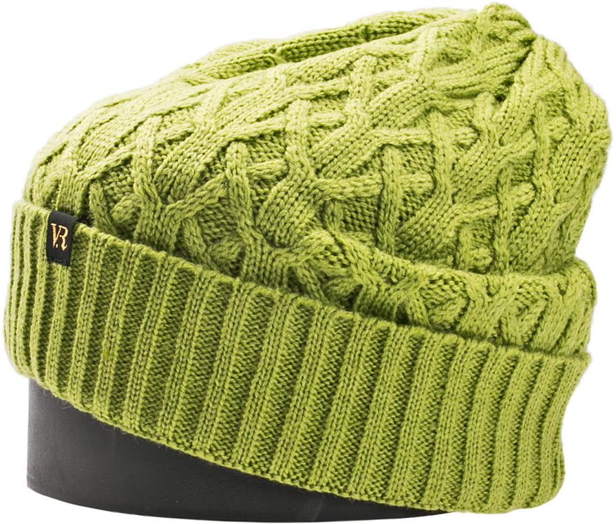 Шапка женская Vittorio Richi, цвет: гороховый. NSH150821. Размер 56/58NSH150821Стильная женская шапка Vittorio Richi отлично дополнит ваш образ в холодную погоду. Модель, изготовленная из шерсти с добавлением акрила, максимально сохраняет тепло и обеспечивает удобную посадку. Шапка дополнена ажурной вязкой и сбоку фирменной нашивкой. Привлекательная стильная шапка подчеркнет ваш неповторимый стиль и индивидуальность.