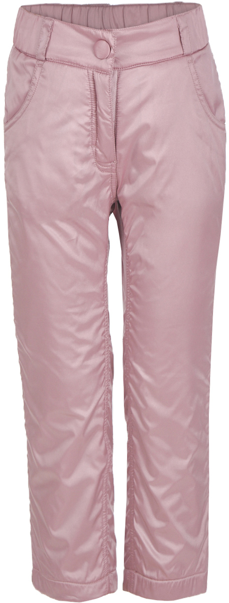 Брюки утепленные для девочки Button Blue, цвет: розовый. 217BBGC64011200. Размер 134, 9 лет217BBGC64011200Плащевые брюки на подкладке из флиса – основа осеннего прогулочного гардероба ребенка. Они защитят ребенка от промокания в сырую и дождливую погоду, подарив уют. Чтобы проводить время на свежем воздухе с пользой и с удовольствием для ребенка, вам стоит купить детские брюки на флисе. Простые, надежные, практичные брюки сделают каждый день ребенка комфортным.