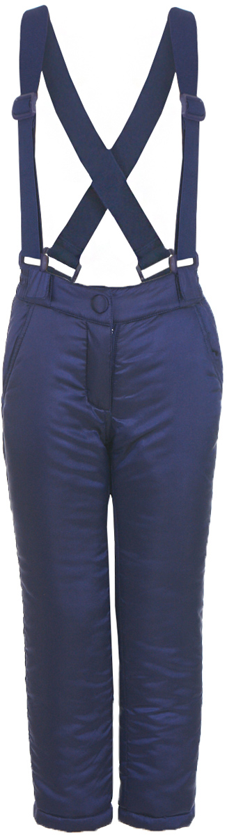 Брюки утепленные для девочки Button Blue, цвет: темно-синий. 217BBGC64021000. Размер 116, 6 лет217BBGC64021000Плащевые брюки на синтепоне – основа зимнего прогулочного гардероба ребенка. Основная задача этого изделия - сохранение тепла и эти брюки с ней справятся наилучшим образом. Чтобы проводить время на свежем воздухе с пользой и с удовольствием для ребенка, вам стоит купить детские брюки на синтепоне. Простые, надежные, практичные брюки от Button Blue сделают каждый день ребенка уютным и комфортным.