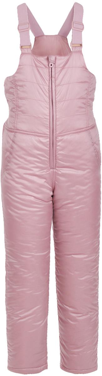 Полукомбинезон для девочки Button Blue, цвет: розовый. 217BBGC67011200. Размер 104, 4 года шапка button blue button blue bu019cgwue64