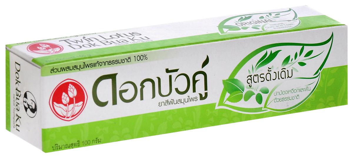 Twin Lotus Зубная паста Herbal Original С травами оригинальная, 100 гСЕ-193Растительные зубные пасты Twin Lotus содержат более 96% натуральных ингредиентов, в подтверждение этого – темный цвет пасты, достигнутый благодаря смешиванию разных трав и процессу изготовления с использованием современного оборудования. Уважаемые клиенты!Обращаем ваше внимание на возможные изменения в дизайне упаковки. Качественные характеристики товара остаются неизменными. Поставка осуществляется в зависимости от наличия на складе.