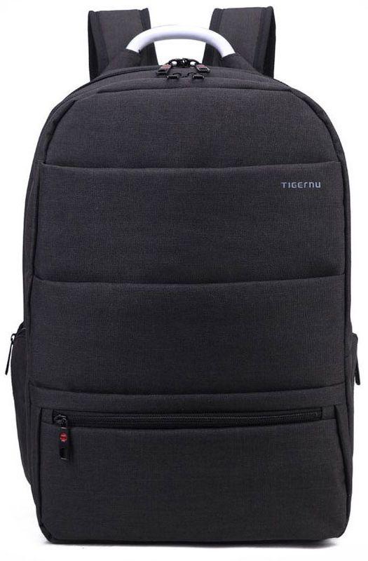 Tigernu T-B3138, Black рюкзак для ноутбука 152000000150055Рюкзак отлично подойдет для работы, учебы или путешествий. Выполнено изделие из высокопрочного, водоотталкивающего материала. Довольно легкий и практичный.Отделение для ноутбука и планшета со вставкой из защитной пены, которое защитит ваши устройства от царапин и других повреждений. Основное отделение с двойной молнией (защита от кражи).