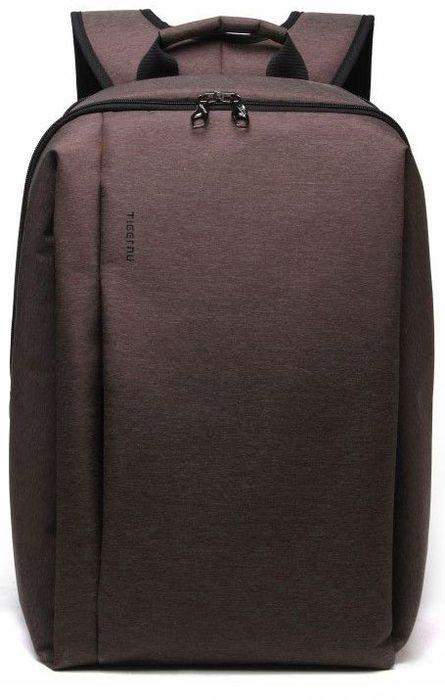 Tigernu T-B3176, Brown рюкзак для ноутбука 142000000150154Стильный рюкзак который подойдет как мужчинам, так и женщинам.Используется двойная молния, которая предотвратит ваш рюкзак от взлома. Так же в комплекте входит навесной кодовый замок, который можно повесить на молнию для дополнительной защиты.В теплое время года, ваша спина не будет потеть от рюкзака.