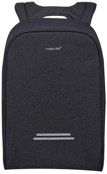 Tigernu T-B3213, Dark Grey рюкзак для ноутбука 162000000150093Городской рюкзак T-B3213 от известного бренда Tigernu создан для активных, современных людей. Модель отличается вместительностью и комфортом. Оснащенная многочисленными отделениями и карманами, она позволяет всегда иметь под рукой ноутбук и другую технику, одежду, ключи, кошелек и прочие вещи.В производстве рюкзака использованы качественные материалы, которые не пропускают влагу и устойчивы к износу.К преимуществам Tigernu T-B3213 относят:• продуманный дизайн и надежную защиту от действий злоумышленников. Рюкзак оснащен двойной молнией с возможностью использования кодового замка;• большой внутренний объем, который позволяет разместить все необходимые вещи;• удобные, регулируемые по высоте лямки. Они равномерно распределяют нагрузку и снимают излишнее напряжение с плеч;• вентилируемую спинку, которая обеспечивает эффективный воздухообмен и оставляет спину сухой даже в жаркую и влажную погоду;• встроенный USB-порт, позволяющий зарядить телефон в любое время;• наличие противоударной защиты в отделении для ноутбука. О безопасности владельца заботятся светоотражающие вставки, а дополнительную защиту вещей от промокания обеспечивает дождевик, спрятанный в нижней части рюкзака.