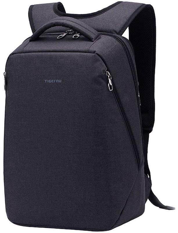 Tigernu T-B3164, Black рюкзак для ноутбука 142000000148717Tigernu T-B3164 - городской рюкзак, выполнен из практичного, высококачественного полиэстера, который устойчив к промоканию и незначительным механическим повреждениям.Модель состоит из одного основного отделения и многочисленных карманов. Отдельно расположен отсек для ноутбука с усиленными стенками, защищающими технику от промокания, вибраций и ударов. За счет эргономики рюкзак подходит для путешествий, учебы, городского использования.Модель Tigernu T-B3164 оснащена: спинкой анатомически правильной формы, созданной из дышащего материала;двойной молнией, отличающейся повышенной прочностью и позволяющей использовать кодовый замок;удобными широкими лямками, которые регулируются по высоте;надежной ручкой для переноски;скрытым карманом, расположенным на задней стороне модели.Рюкзак рассчитан на долгое время использования, поскольку все швы и материалы отличаются повышенной прочностью. Помимо практичности и долговечности, он также привлекает внимание эффектным дизайном.