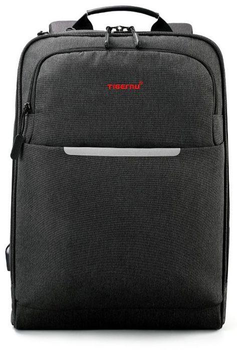 Tigernu T-B3305, Black рюкзак для ноутбука 142000000155197Рюкзак Tigernu T-B3305 станет незаменимым аксессуаром для людей, чья жизнь проходит в постоянном движении. Обладая регулируемыми по длине плечевыми ремнями, обеспечивающими комфорт при переноске, он отлично подойдет для средних ноутбуков с диагональю до 14 дюймов. Особенности:Ортопедическая спинка, Органайзер для принадлежностей, Водоотталкивающая пропитка, Воздухопроницаемая спинка.
