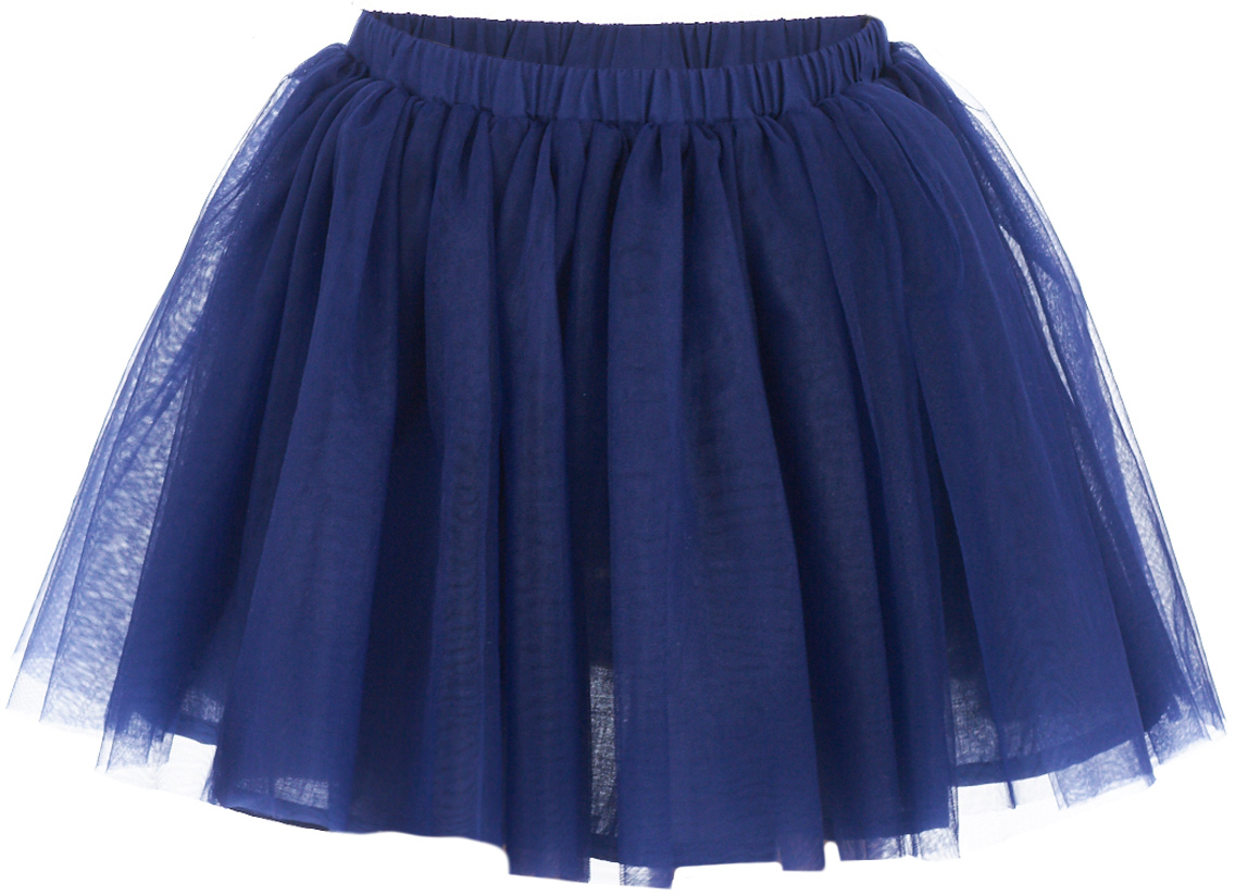 Юбка для девочки Button Blue, цвет: темно-синий. 217BBGP61011000. Размер 98, 3 года217BBGP61011000Наверное, большинство родителей согласятся с тем, что недорогие нарядные юбки более предпочтительны для покупки в предновогодний период, когда много праздничных хлопот и без того серьезно сказываются на бюджете семьи. Эта юбка из сетки - оптимальный вариант! В нем девочка будет выглядеть нарядно и привлекательно. Дополнив образ нарядной блузкой и новогодними аксессуарами, в этой юбке можно смело водить хоровод, ходить в гости, в театр, создавая праздничное настроение. Если вы хотите купить детскую юбку для предстоящих торжеств, эта модель от Button Blue - отличный выбор.