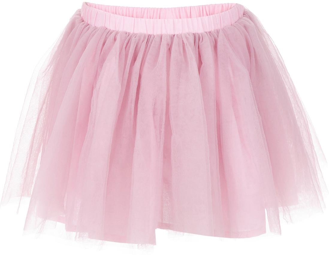 Юбка для девочки Button Blue, цвет: розовый. 217BBGP61011200. Размер 128, 8 лет217BBGP61011200Наверное, большинство родителей согласятся с тем, что недорогие нарядные юбки более предпочтительны для покупки в предновогодний период, когда много праздничных хлопот и без того серьезно сказываются на бюджете семьи. Эта юбка из сетки - оптимальный вариант! В нем девочка будет выглядеть нарядно и привлекательно. Дополнив образ нарядной блузкой и новогодними аксессуарами, в этой юбке можно смело водить хоровод, ходить в гости, в театр, создавая праздничное настроение. Если вы хотите купить детскую юбку для предстоящих торжеств, эта модель от Button Blue - отличный выбор.