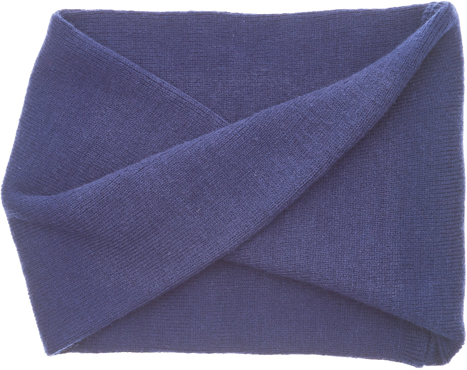 Снуд-хомут для девочки Button Blue, цвет: темно-синий. 217BBGX00011000. Размер универсальный каталка альтернатива трактор м4942 blue