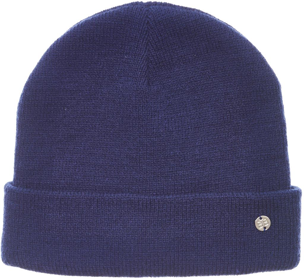 Шапка для девочки Button Blue, цвет: темно-синий. 217BBGX73011000. Размер 50 шапка button blue button blue bu019cbaghy2