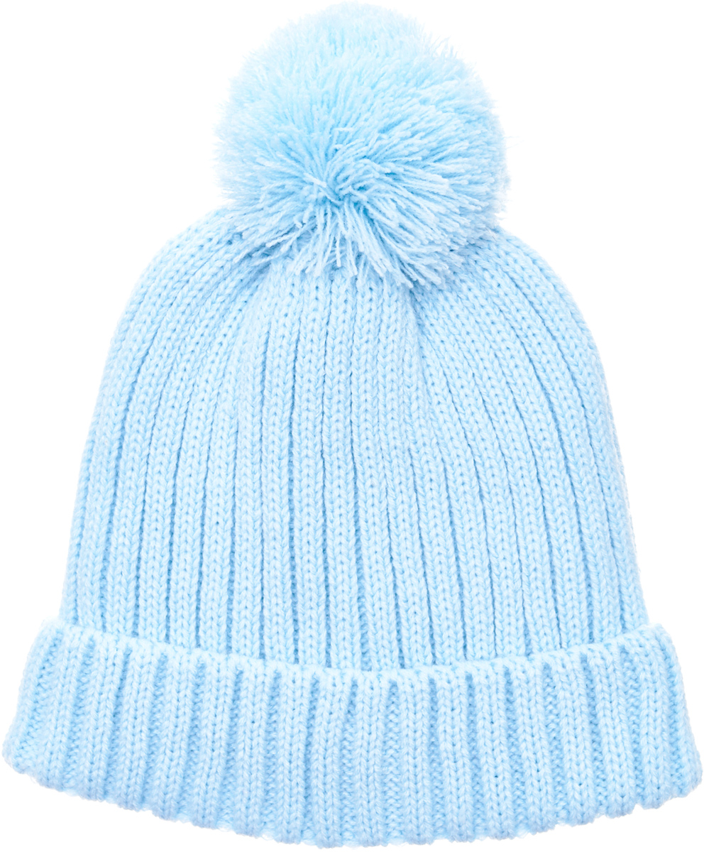 Шапка для девочки Button Blue, цвет: голубой. 217BBGX73021800. Размер 52217BBGX73021800Детские вязаные шапки на подкладке из флиса - необходимый атрибут прогулочного гардероба. К тому же, они отлично украшают и завершают осенне-зимний комплект. Купить модную шапку для девочки, значит, позаботиться о комфорте и хорошем настроении ребенка.