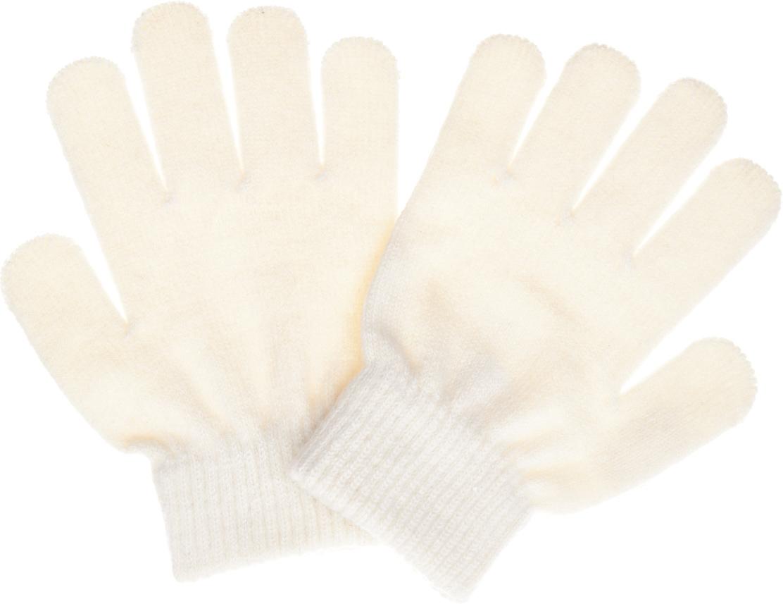 Перчатки для девочки Button Blue, цвет: молочный. 217BBGX76011400. Размер 16217BBGX76011400Детские перчатки - незаменимая модель для холодной погоды. Их основная функция - защита от холода и ветра, и с ней эти перчатки справятся наилучшим образом. Практичные родители знают: детские перчатки часто теряются, поэтому лучше купить недорогие перчатки, но две пары сразу, чтобы иметь возможность без труда восполнить потерю. Перчатки от Button Blue - оптимальный вариант! Хорошая цена и отличное качество принесут удовольствие от покупки и эксплуатации!