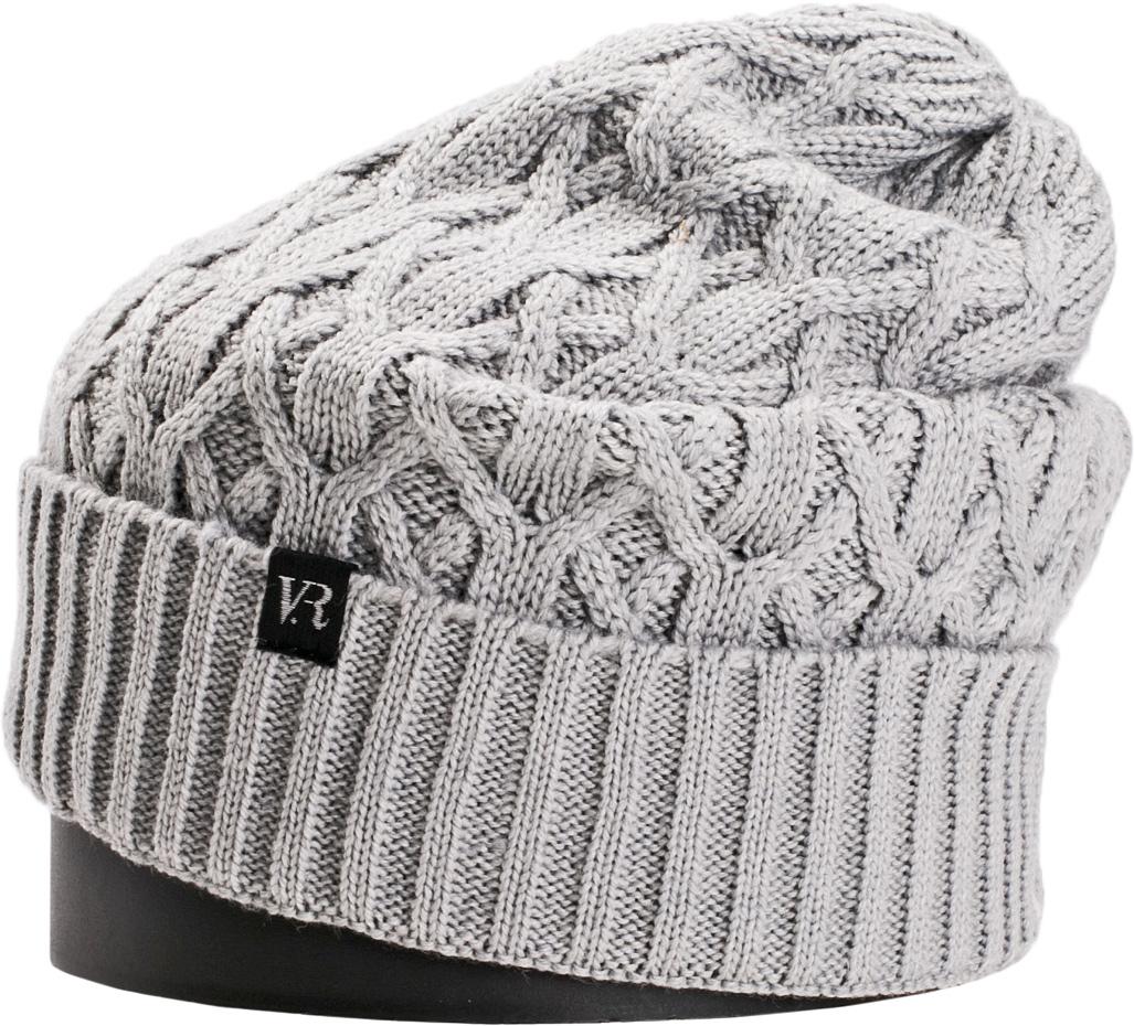 Шапка женская Vittorio Richi, цвет: светло-серый. NSH150826. Размер 56/58NSH150826Стильная женская шапка Vittorio Richi отлично дополнит ваш образ в холодную погоду. Модель, изготовленная из шерсти с добавлением акрила, максимально сохраняет тепло и обеспечивает удобную посадку. Шапка дополнена ажурной вязкой и сбоку фирменной нашивкой. Привлекательная стильная шапка подчеркнет ваш неповторимый стиль и индивидуальность.