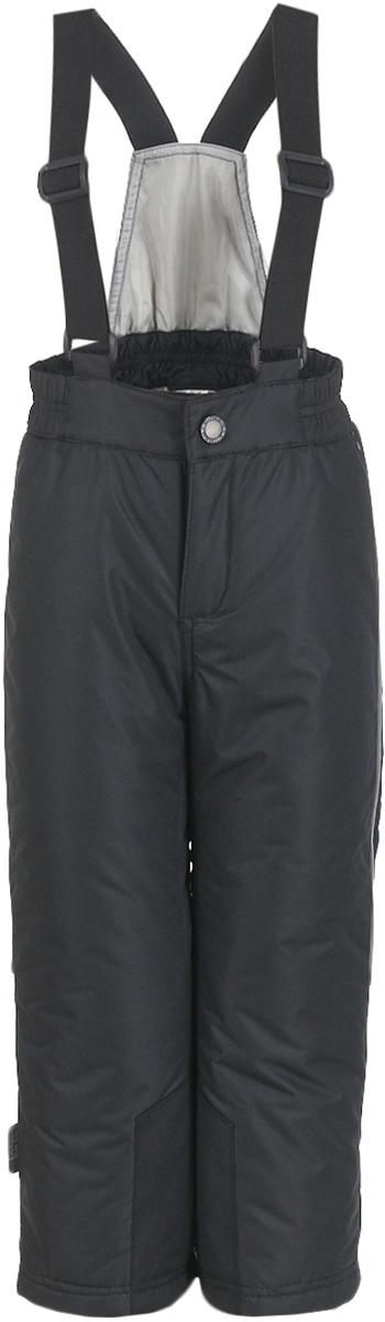 Брюки утепленные детские Button Blue, цвет: черный. 217BBUA67010800. Размер 98, 3 года брюки утепленные женские rukka цвет черный 878665241rv 990 размер 40 48