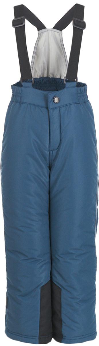 Брюки утепленные детские Button Blue, цвет: серый. 217BBUA67012000. Размер 104, 4 года217BBUA67012000Детские утепленные брюки из мембранной плащевки – основа зимнего прогулочного гардероба ребенка. Основная задача этого изделия - водостойкость и сохранение тепла, и эти брюки с ней справится наилучшим образом. Чтобы сделать длительные прогулки на свежем воздухе комфортными, вам стоит купить детские утепленные брюки. Простые, надежные, практичные, утепленные брюки сделают каждый день ребенка уютным и комфортным.
