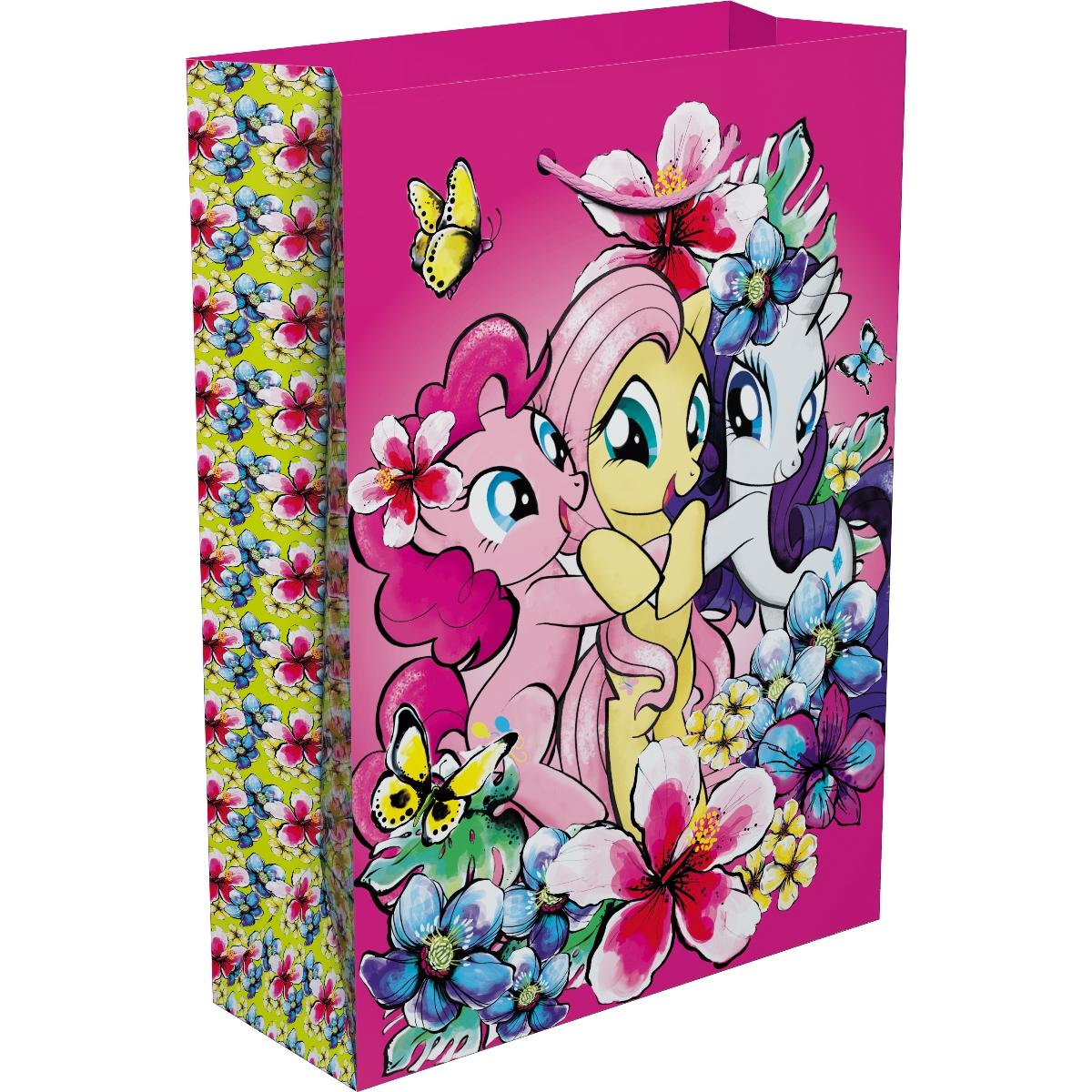 Мой маленький пони Пакет подарочный 35 х 25 х 9 см умка музыкальная книга бал мечты мой маленький пони