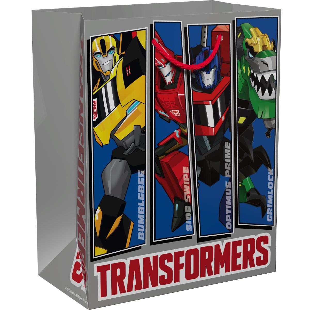 Трансформеры Пакет подарочный 23 х 18 х 10 см -  Подарочная упаковка