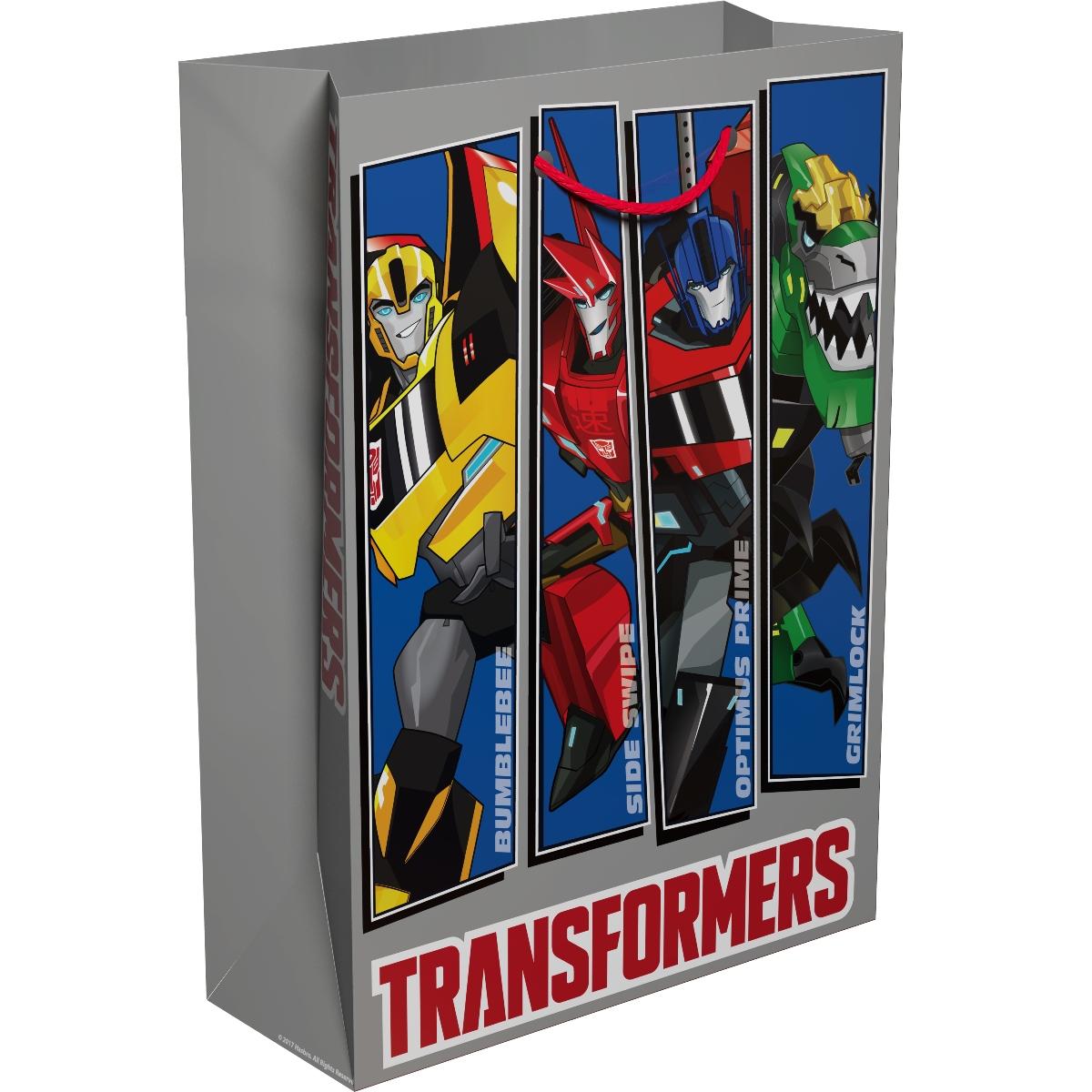 Трансформеры Пакет подарочный 35 х 25 х 9 см