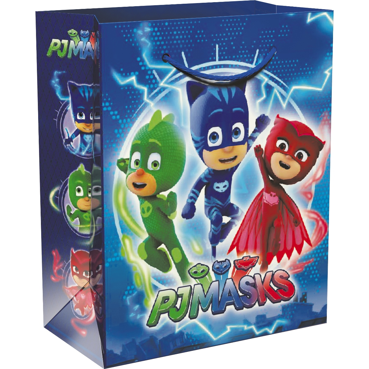 Герои в масках Пакет подарочный 23 х 18 х 10 см