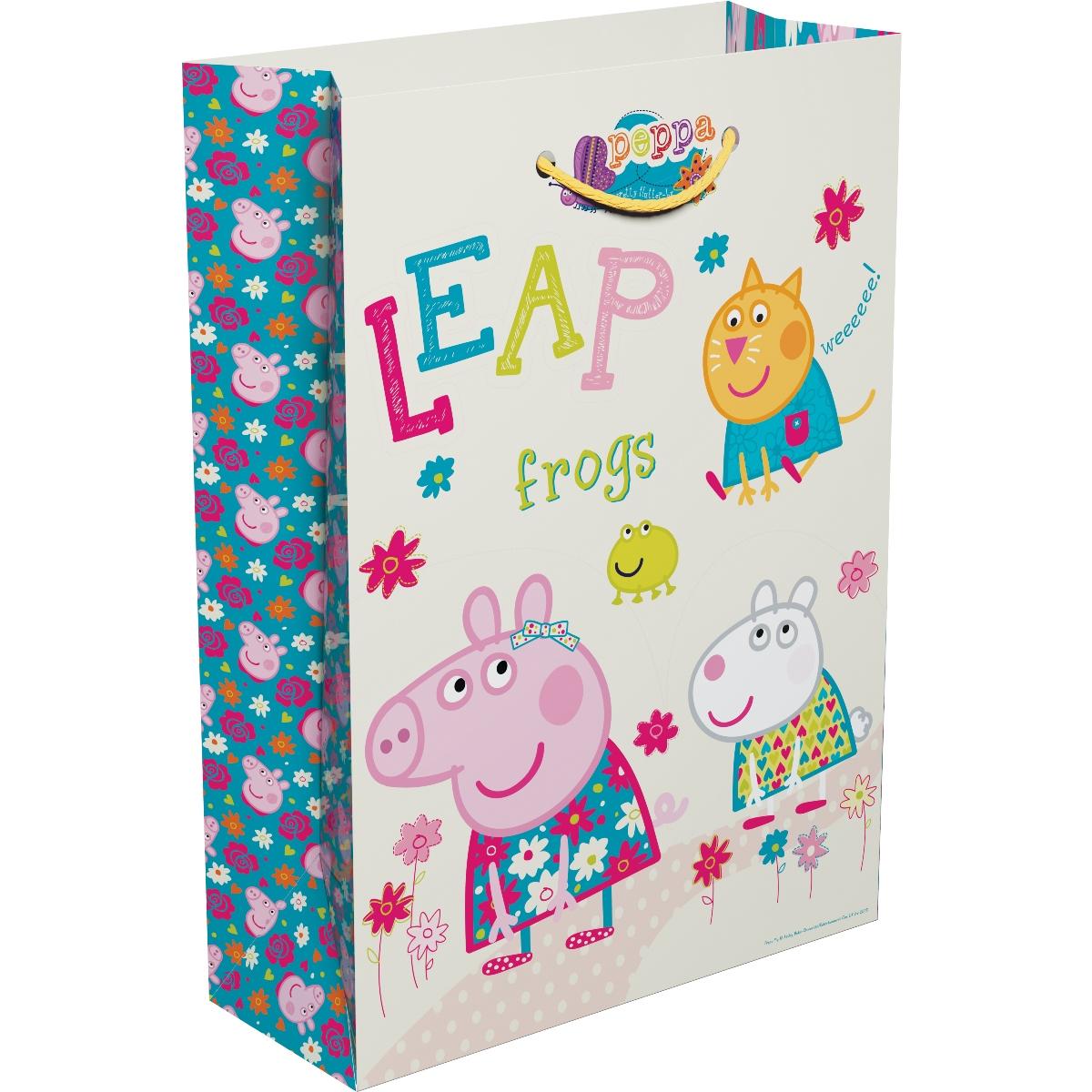 Peppa Pig Пакет подарочный Весна Пеппы 35 х 25 х 9 см весна 35 см
