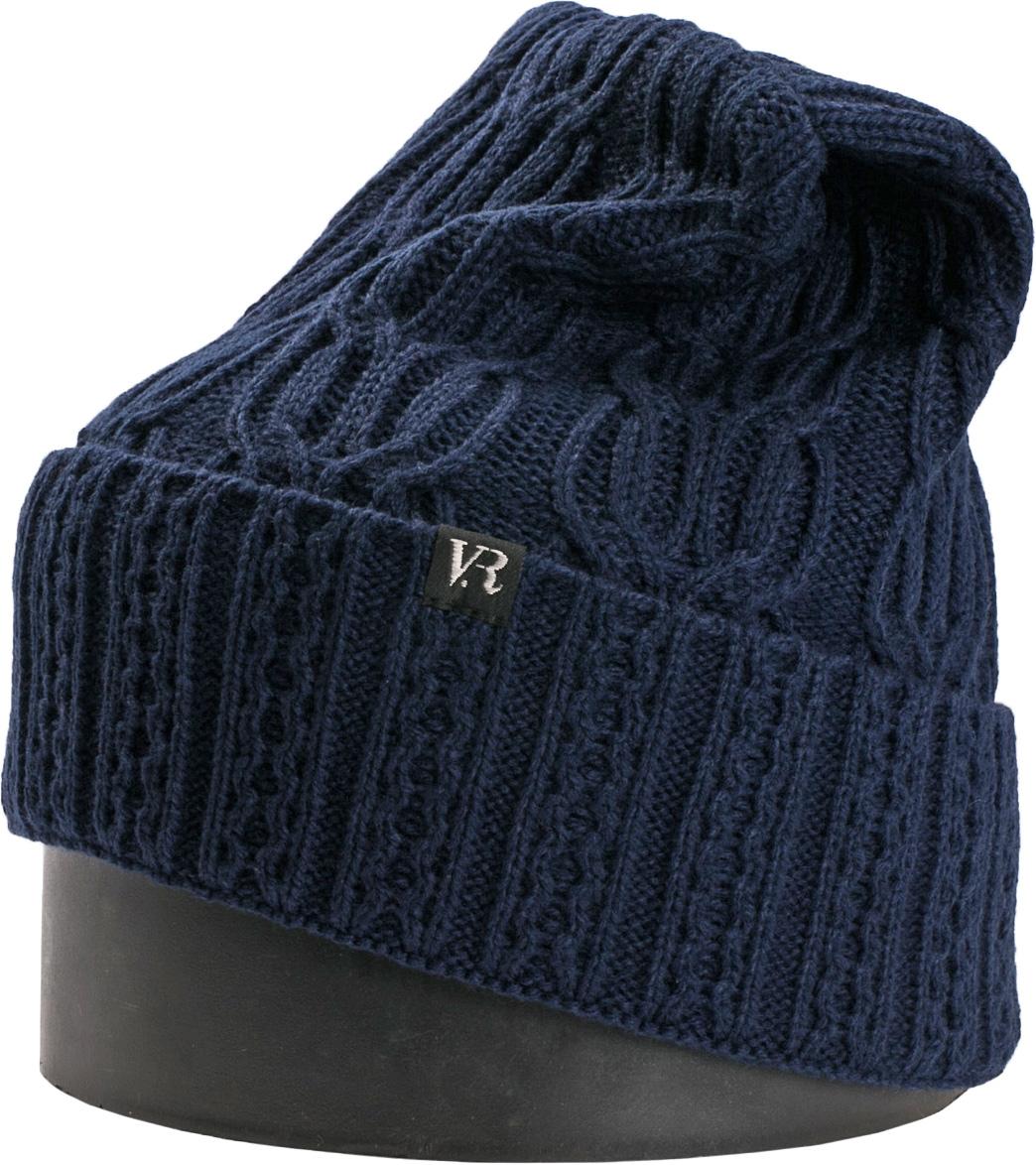 Шапка женская Vittorio Richi, цвет: синий. NSH900199. Размер 56/58NSH900199Стильная женская шапка Vittorio Richi отлично дополнит ваш образ в холодную погоду. Модель, изготовленная из шерсти с добавлением акрила, максимально сохраняет тепло и обеспечивает удобную посадку. Шапка дополнена ажурной вязкой и сбоку фирменной нашивкой. Привлекательная стильная шапка подчеркнет ваш неповторимый стиль и индивидуальность.