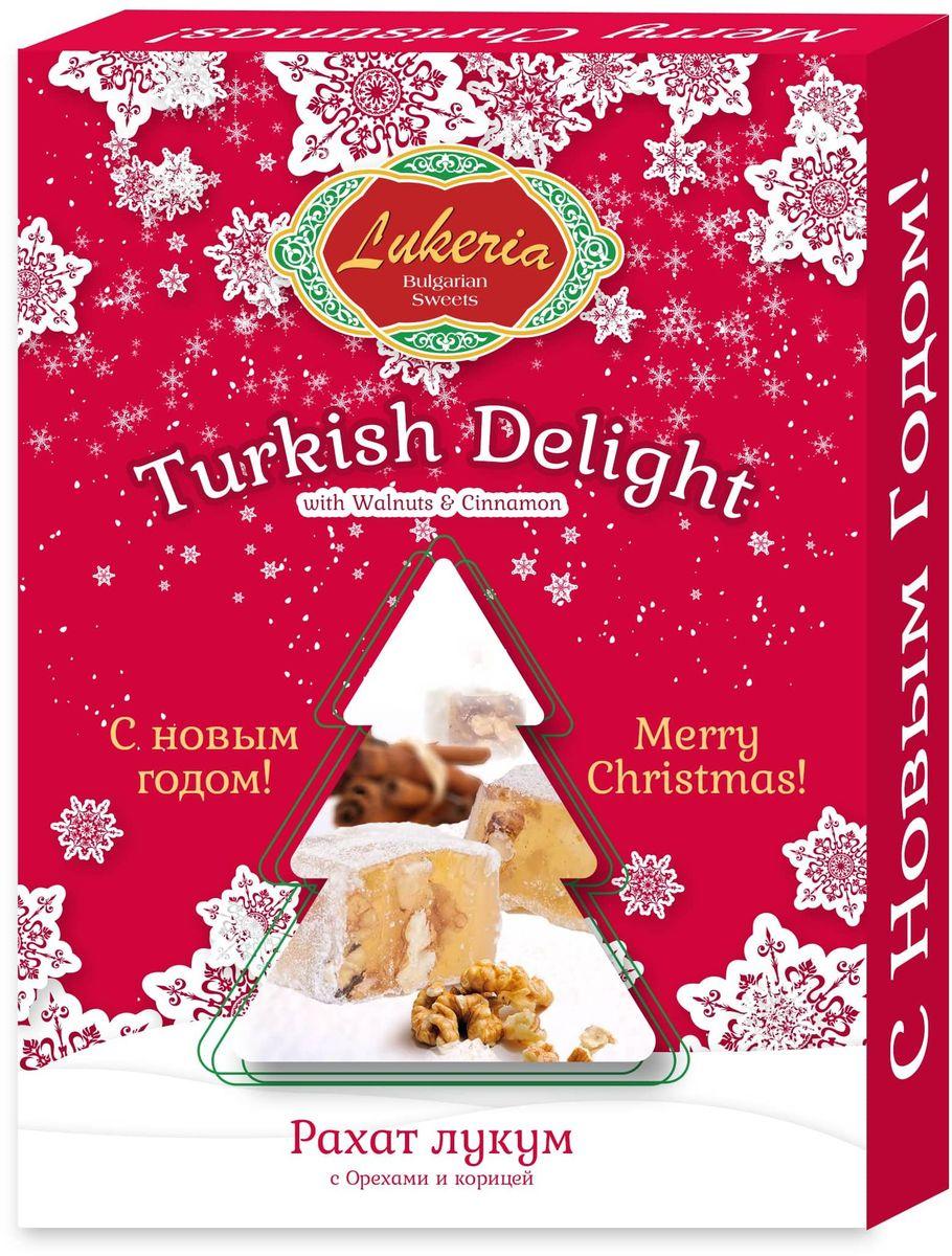 Lukeria Рахат-Лукум c грецким орехом и корицей, 250 г