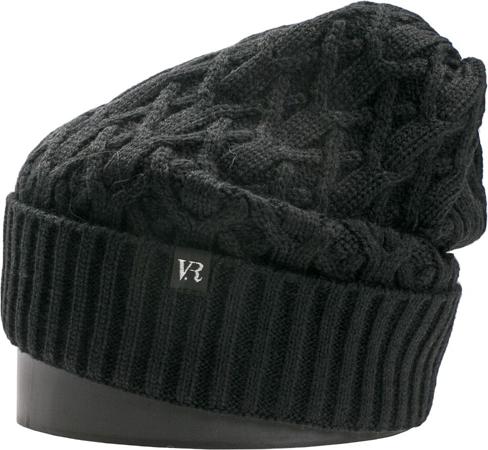Шапка женская Vittorio Richi, цвет: черный. NSH150824. Размер 56/58NSH150824Стильная женская шапка Vittorio Richi отлично дополнит ваш образ в холодную погоду. Модель, изготовленная из шерсти с добавлением акрила, максимально сохраняет тепло и обеспечивает удобную посадку. Шапка дополнена ажурной вязкой и сбоку фирменной нашивкой. Привлекательная стильная шапка подчеркнет ваш неповторимый стиль и индивидуальность.