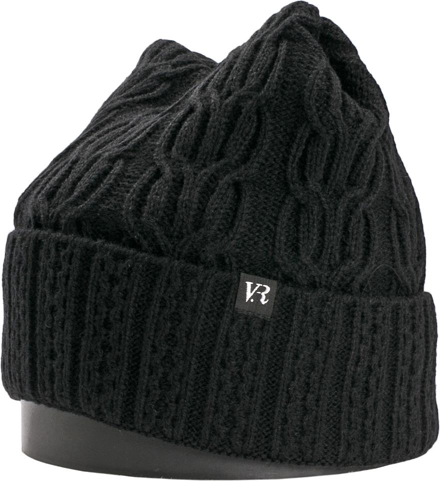 Шапка женская Vittorio Richi, цвет: черный. NSH900189. Размер 56/58NSH900189Стильная женская шапка Vittorio Richi отлично дополнит ваш образ в холодную погоду. Модель, изготовленная из шерсти с добавлением акрила, максимально сохраняет тепло и обеспечивает удобную посадку. Шапка дополнена ажурной вязкой и сбоку фирменной нашивкой. Привлекательная стильная шапка подчеркнет ваш неповторимый стиль и индивидуальность.