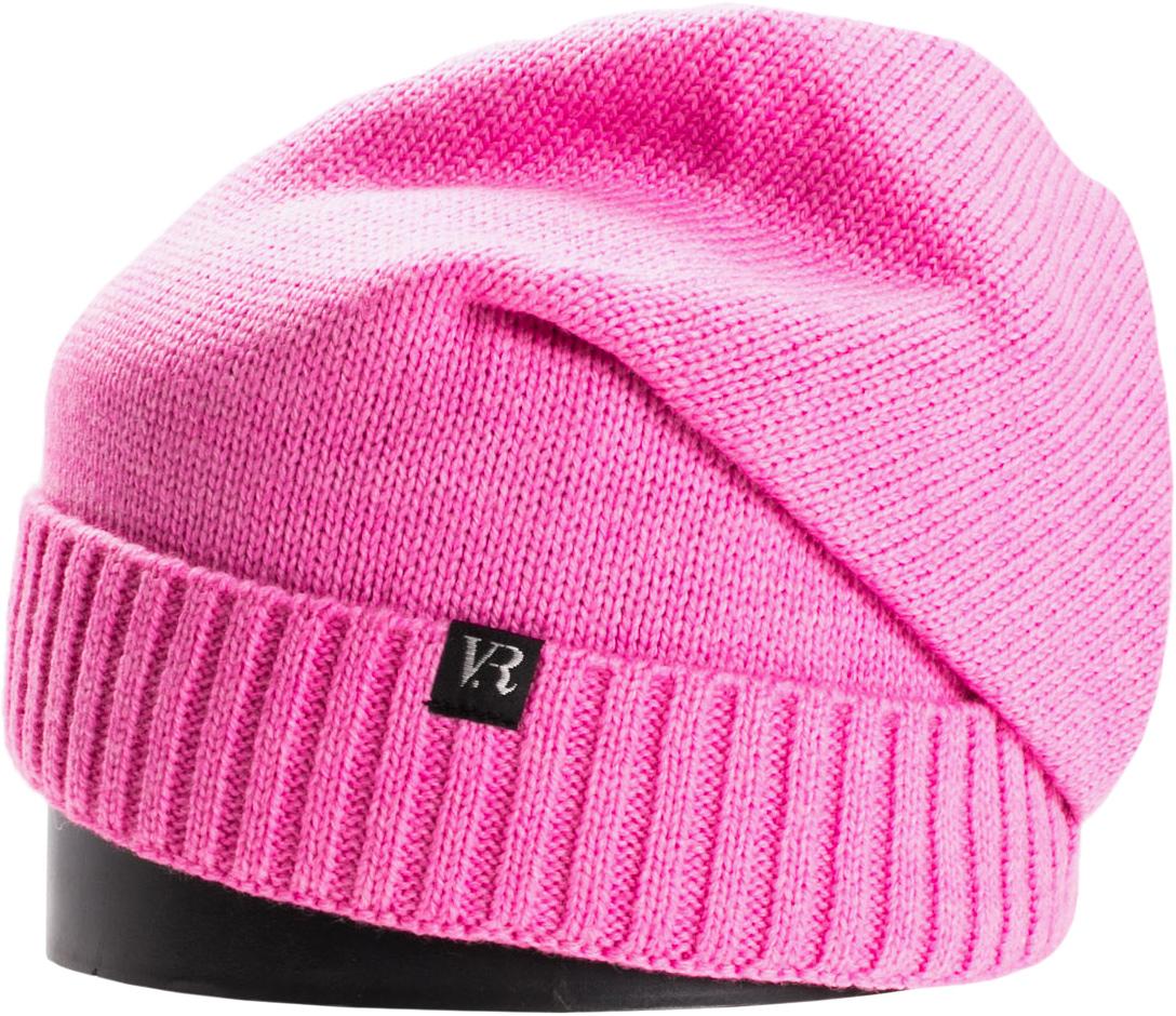 Шапка женская Vittorio Richi, цвет: ярко-розовый. NSH150711. Размер 56/58NSH150711Стильная женская шапка Vittorio Richi отлично дополнит ваш образ в холодную погоду. Модель, изготовленная из шерсти с добавлением акрила, максимально сохраняет тепло и обеспечивает удобную посадку. Шапка дополнена сзади декоративным элементом и сбоку фирменной нашивкой. Привлекательная стильная шапка подчеркнет ваш неповторимый стиль и индивидуальность.