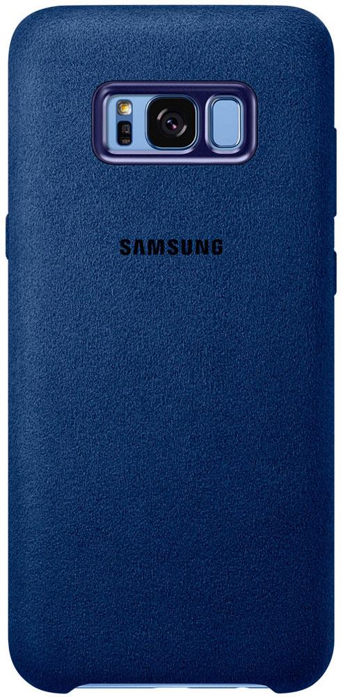 Samsung Alcantara Cover чехол для Galaxy S8+, BlueEF-XG955ALEGRUЛицевая поверхность чехла Samsung Alcantara Cover выполнена из Алькантары - ультрамикрофибры высочайшего качества, отличающейся мягкостью, богатой цветовой гаммой, великолепной износостойкостью и долговечностью.Чехол Alcantara Cover не только придаёт смартфону изящный и элегантный вид, но и обеспечивает необходимую защиту от многих внешних воздействий.