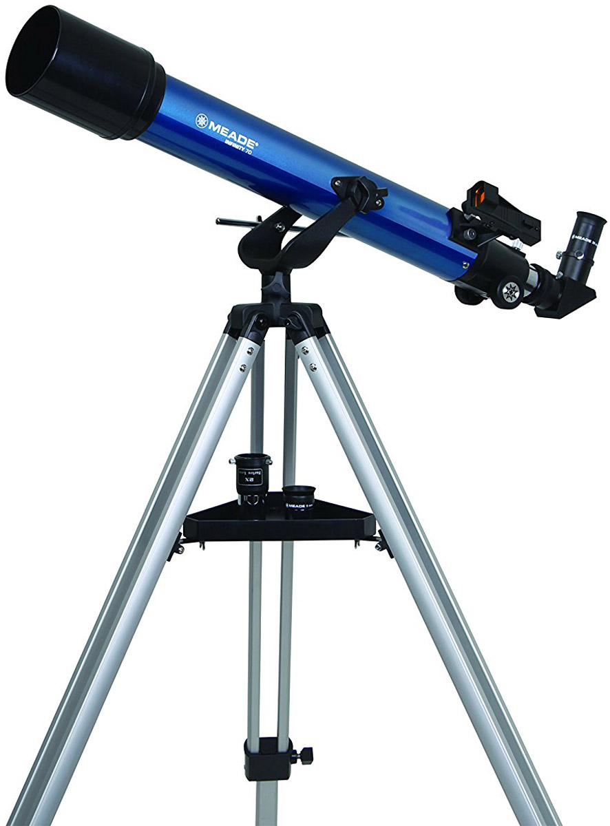 Meade Infinity 70 мм азимутальный телескоп-рефрактор