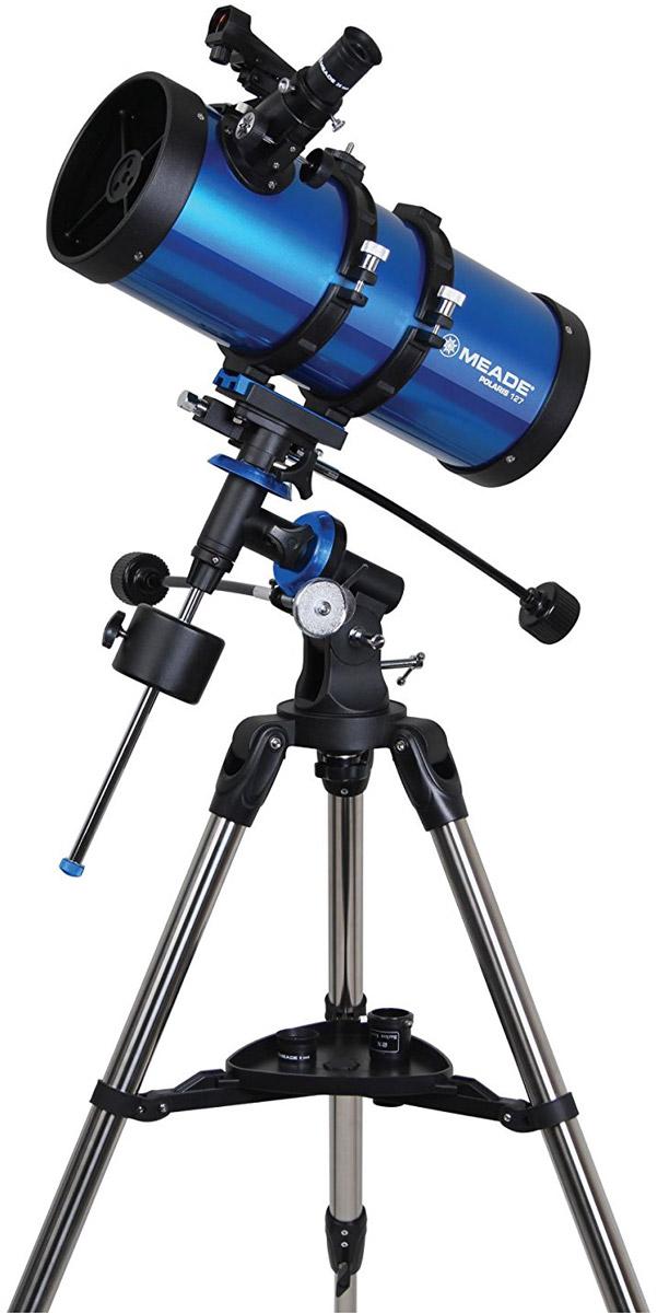 Meade Polaris 127 мм экваториальный телескоп-рефлектор телескоп deepsky dtf114x900eq4
