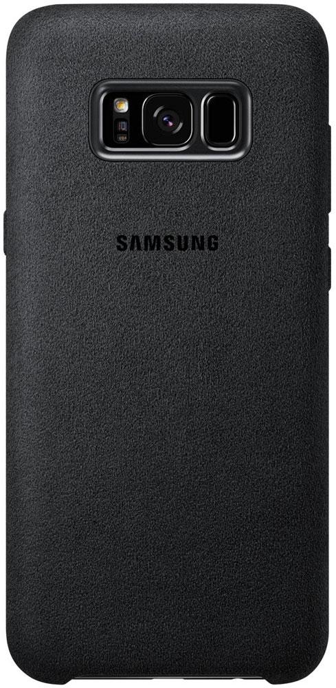 Samsung EF-XG955 Alcantara Cover чехол для Galaxy S8+, Dark GrayEF-XG955ASEGRUЛицевая поверхность чехла Samsung Alcantara Cover выполнена из Алькантары - ультрамикрофибры высочайшего качества, отличающейся мягкостью, богатой цветовой гаммой, великолепной износостойкостью и долговечностью.Чехол Alcantara Cover не только придаёт смартфону изящный и элегантный вид, но и обеспечивает необходимую защиту от многих внешних воздействий.
