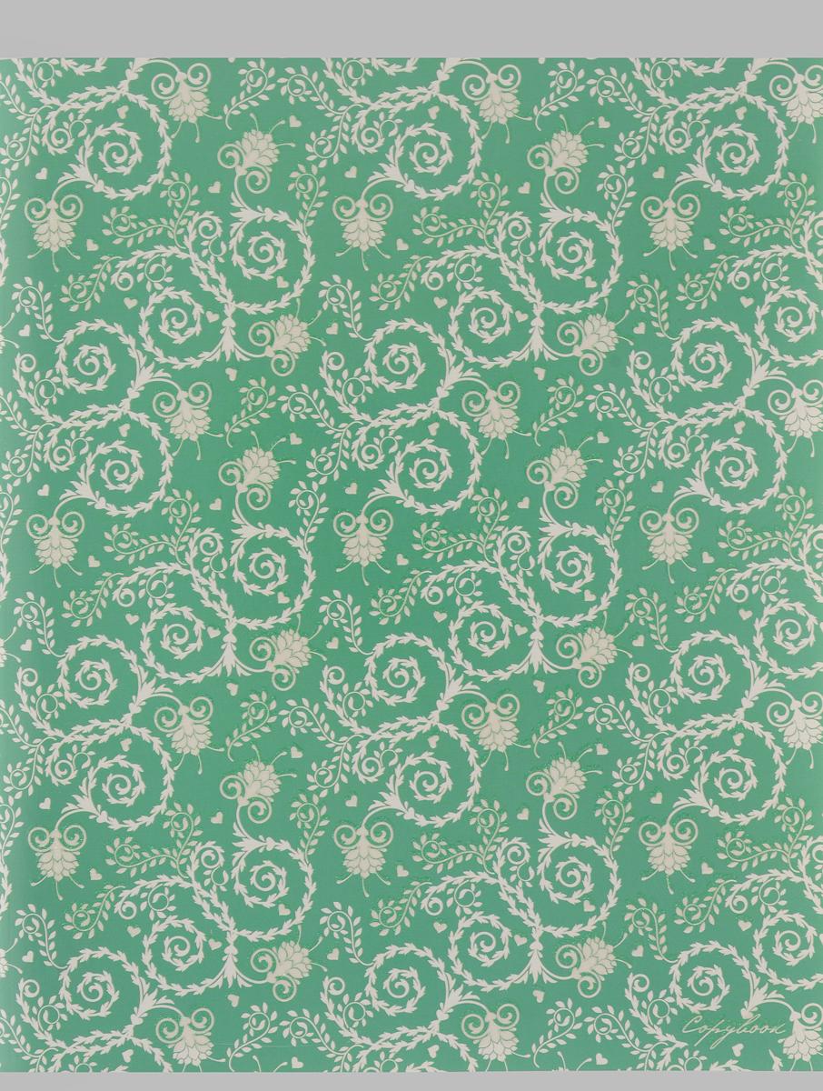 Канц-Эксмо Тетрадь Изящные узоры 96 листов в клетку цвет зеленыйТБ965282_зеленыйТетрадь общая Канц-Эксмо Изящные узоры формат А5, 96 листов в клетку. Крепление - скрепка. Обложка: мелованный картон, выборочный лак, блестки Перламутр. Внутренний блок: бумага офсетная 60 г/м2.