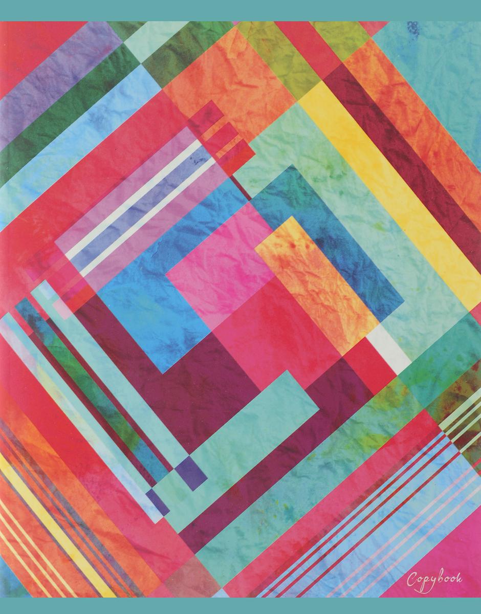 Канц-Эксмо Тетрадь Цветные абстракции 96 листов в клетку вид 3ТК965291_вид 3Тетрадь для конспектов Канц-Эксмо Цветные абстракции формат А5, 96 листов в клетку. Крепление - скрепка. Обложка: мелованный картон, матовое ламинирование. Внутренний блок: бумага офсетная 60 г/м2.