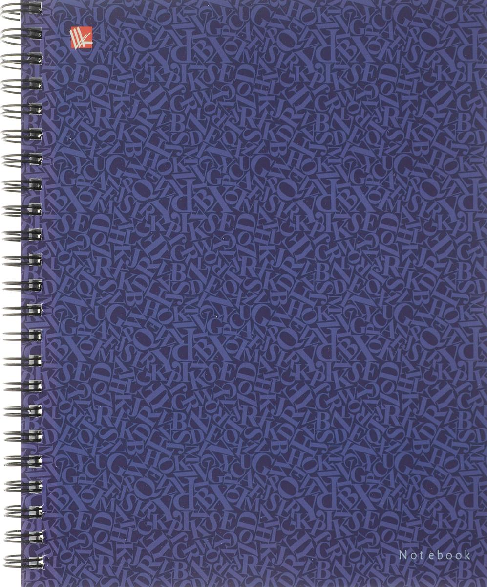 Канц-Эксмо Тетрадь Стиль цвета 96 листов в клетку цвет фиолетовыйТСЛ964860_фиолетовый
