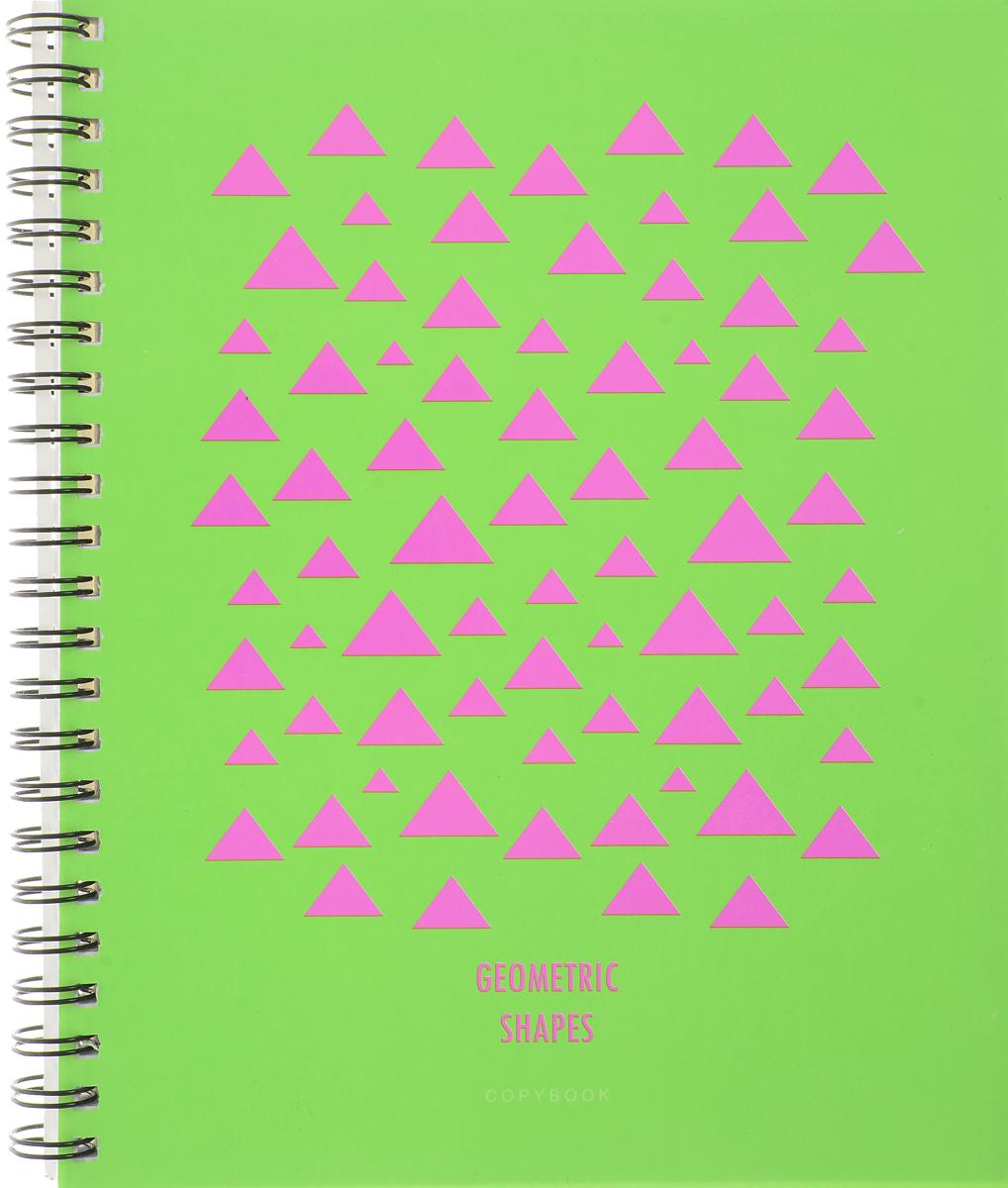 Канц-Эксмо Тетрадь Насыщенные цвета 96 листов в клетку цвет салатовыйТСЛ965230_салатовыйТетрадь общая Канц-Эксмо Насыщенные цвета формат А5, 96 листов в клетку. Крепление - гребень. Обложка: мелованный картон, пантонная печать, выборочный лак. Внутренний блок: бумага офсетная 60 г/м2.