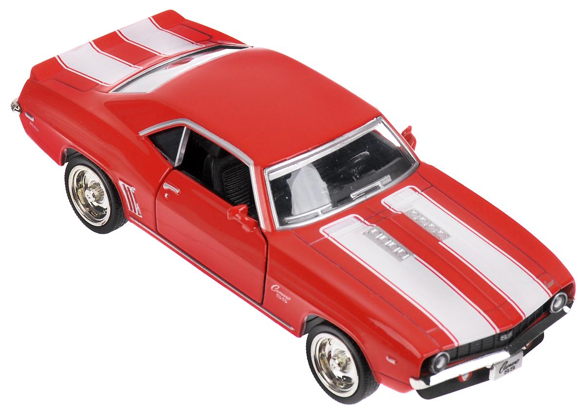 Autotime Модель автомобиля 1969 Chevrolet Camaro SS 49923 autotime набор машинок recovery truck long эвакуатор с прицепом