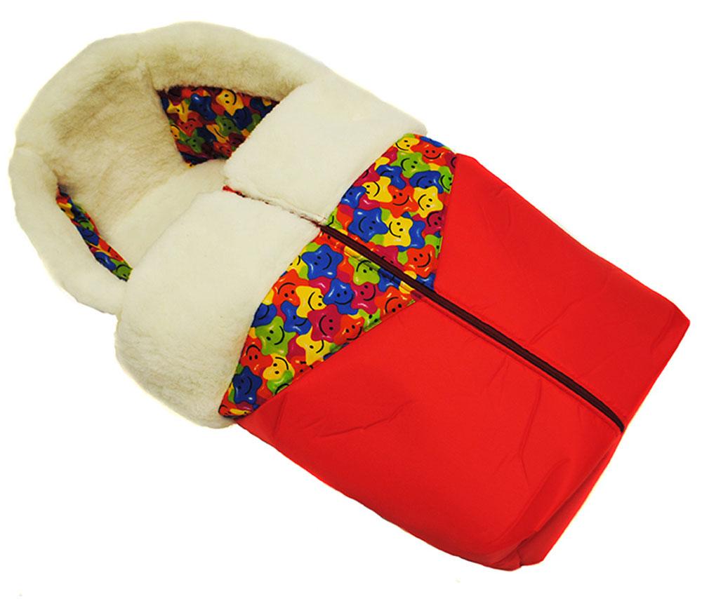 Русские Игрушки Меховой матрас для Санимобиля цвет красный