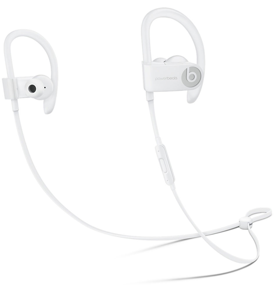 Beats Powerbeats 3 Wireless, White наушники наушники беспроводные beats solo3 wireless on ear neighborhood collection brick red mpxk2ze a