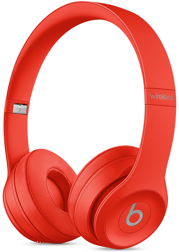 Beats Solo3 Wireless, Red беспроводные наушники беспроводные наушники beats mnen2ze a solo3 wireless gloss black