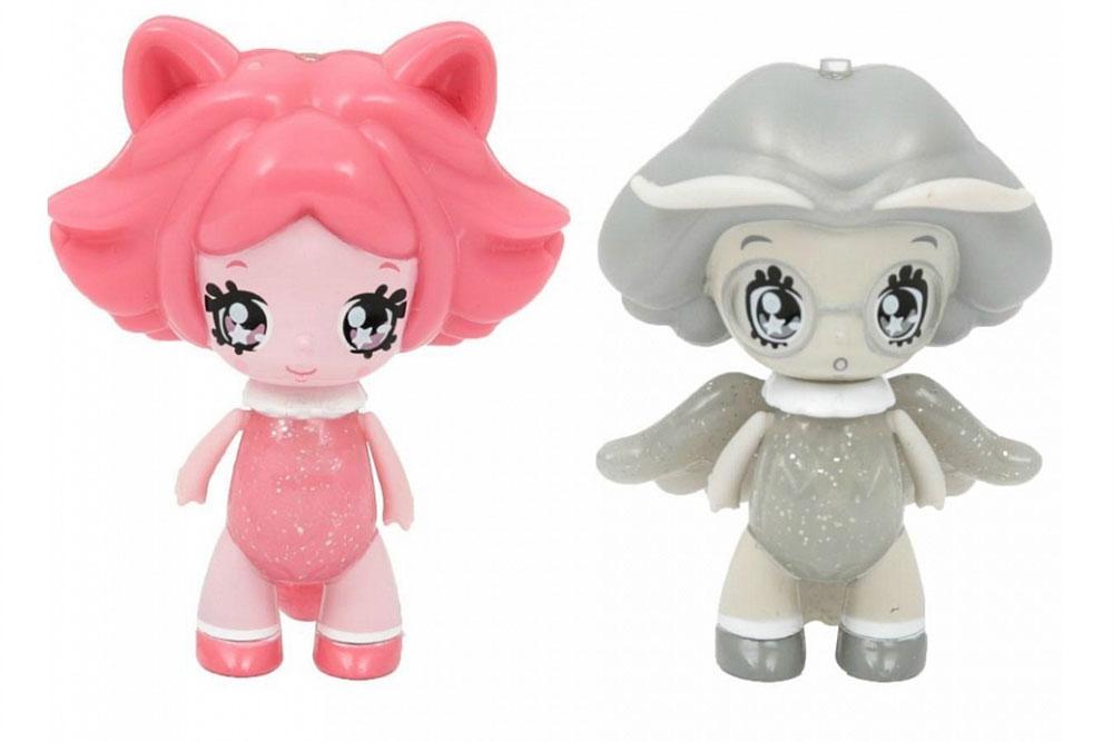 Glimmies Набор мини-кукол Flayla & Rakella glimmies набор мини кукол batlinda