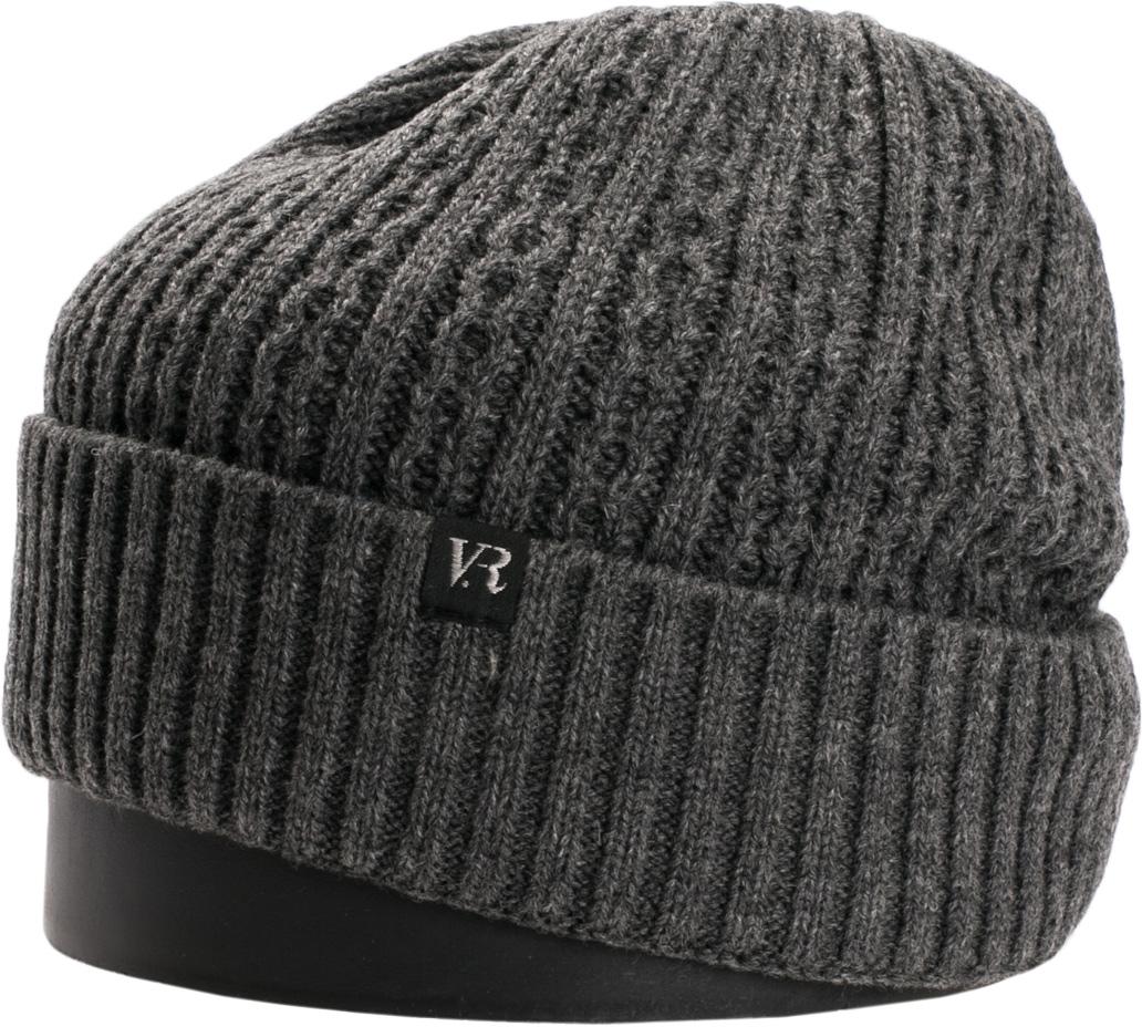 Шапка мужская Vittorio Richi, цвет: серый. NSH410024. Размер 56/58NSH410024Стильная мужская шапка Vittorio Richi отлично дополнит ваш образ в холодную погоду. Модель, изготовленная из шерсти с добавлением акрила, максимально сохраняет тепло и обеспечивает удобную посадку. Шапка дополнена ажурной вязкой и сбоку фирменной нашивкой. Модная шапка подчеркнет ваш неповторимый стиль и индивидуальность.