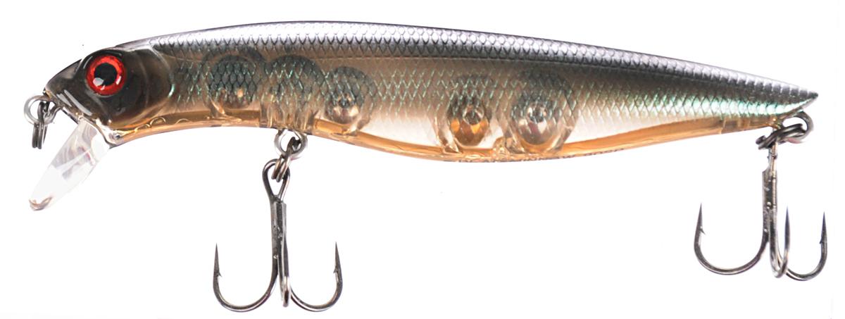 Воблер Tsuribito Dead Minnow SP, цвет 535, 90 мм70408Качественный воблер для ловли рыбы. Приманка предназначена для ловли хищников в прибрежной зоне. Наиболее эффективно работает при заглублении в воду на глубину до 1 метра. При проводках обладает привлекательной энергичной игрой, которая очень нравится даже самой пассивной рыбе. Воблер способен участвовать в забросах на дальние расстояния. Тело приманки оснащено мощными тройниками для надежной подсечки рыбы.